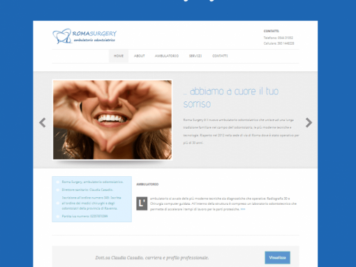 Studio dentistico Roma surgery