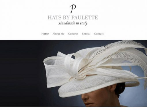 Hats By Paulette, Logo e sito web