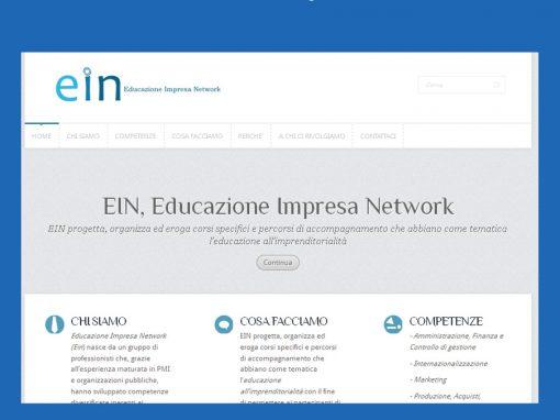 Ein – logo e blog