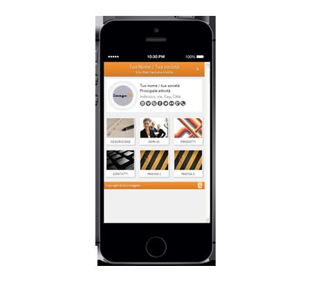 Demo Site Smartphone