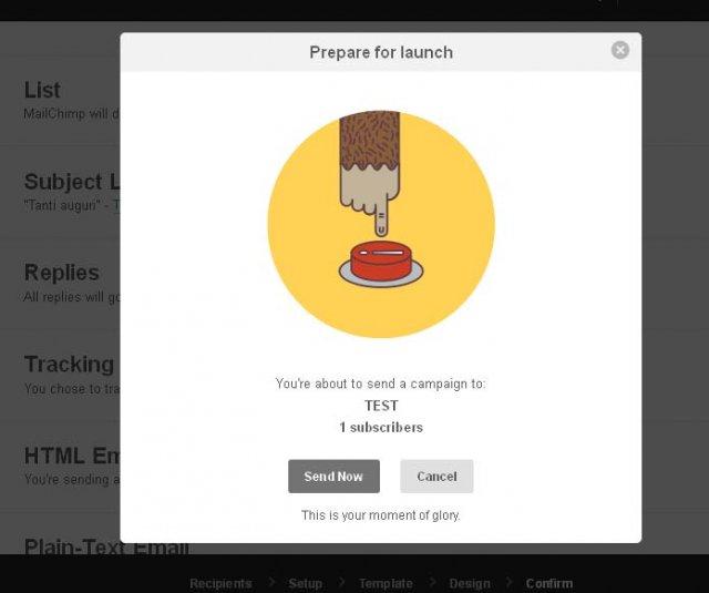 Semplice guida all'invio di Newsletter con Mailchimp.