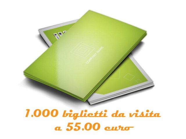 1.000 Biglietti da visita a 55.00 €