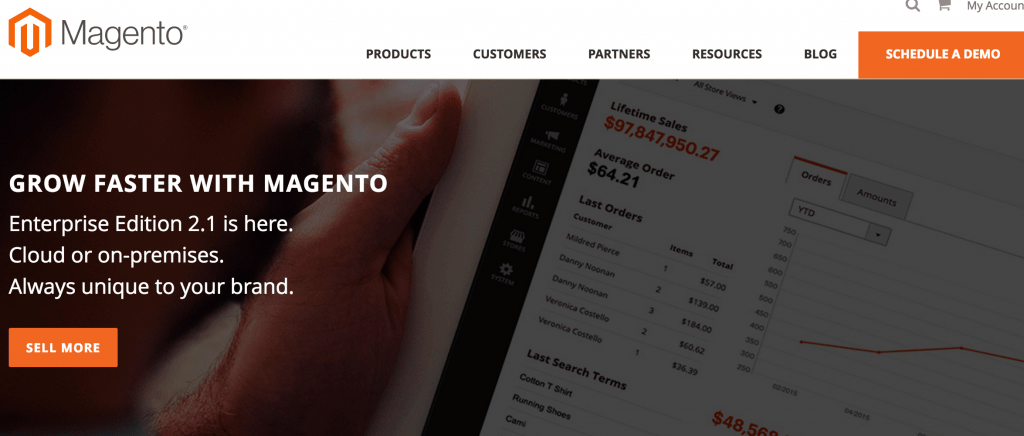 ecommerce Magento