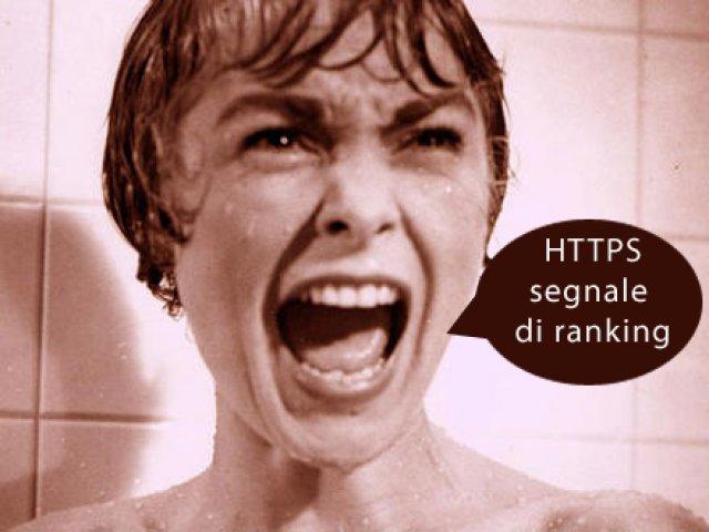 HTTPS, un nuovo colpo alla SEO da parte di Google?