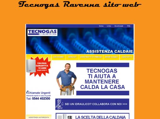 Sito web e posizionamento locale per Tecnogas srl